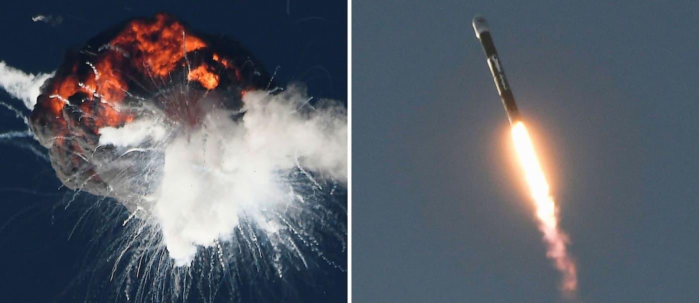 [VIDEO] Un cohete de la empresa Firefly explotó minutos luego de su despegue