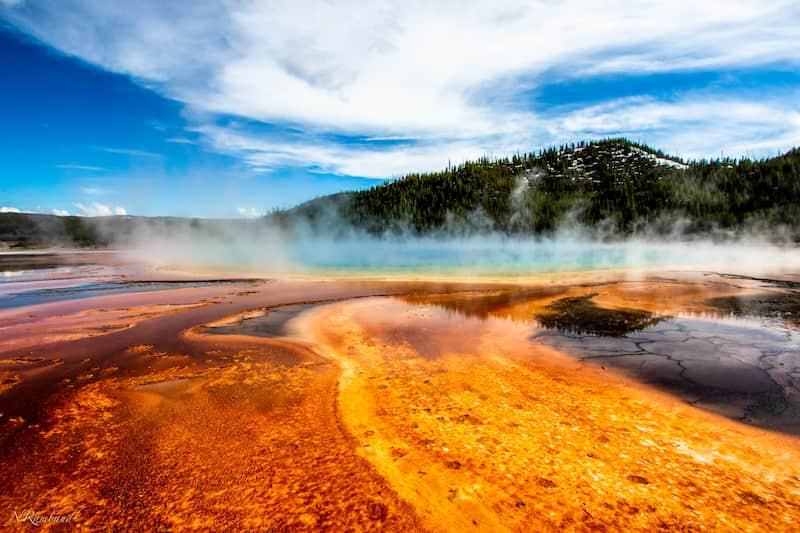 Parque Nacional Yellowstone, Estados Unidos - Aguas Termales
