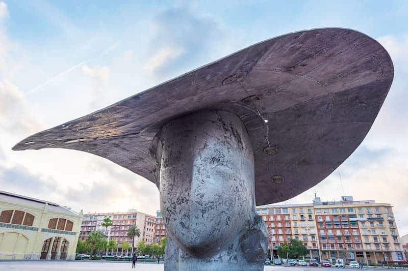 Escultura De Valencia: La Pamela