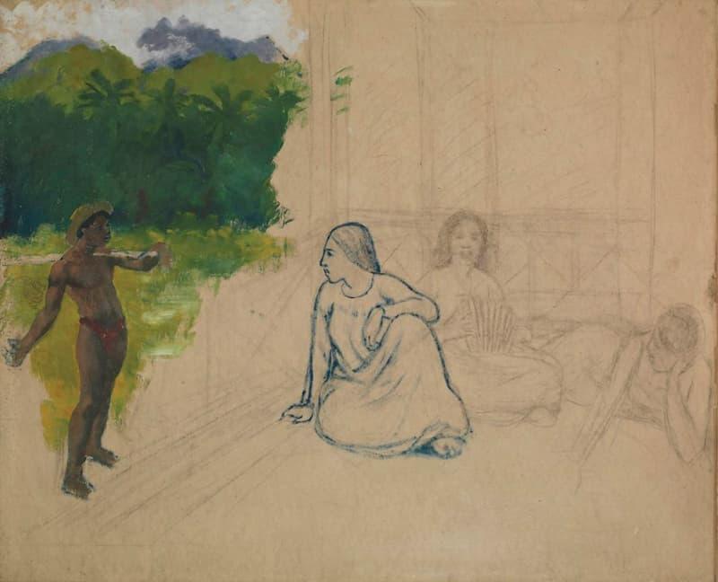 Supuesta Obra De Gauguin