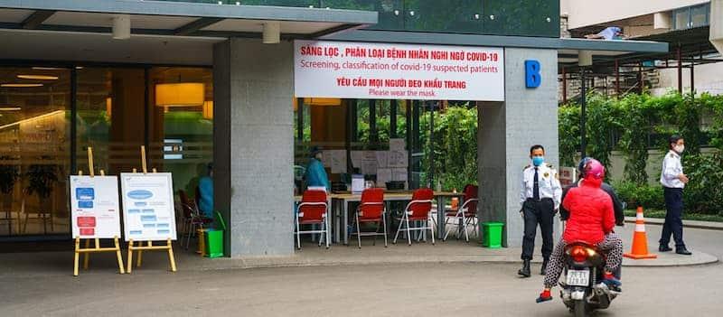 Centro De Testeo De Covid-19 - Vietnam