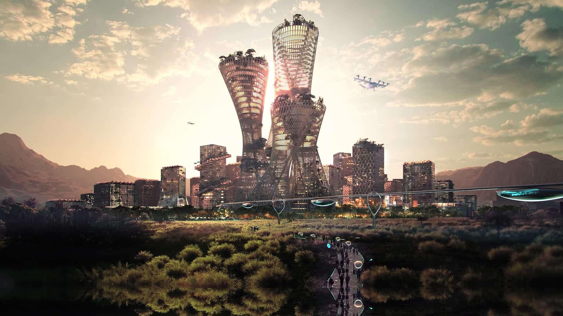 Telosa: una nueva ciudad sostenible que se construirá en el desierto de Estados Unidos