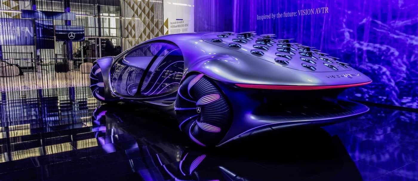 Mercedes Benz presentó un nuevo auto que puedes controlarlo con tu mente