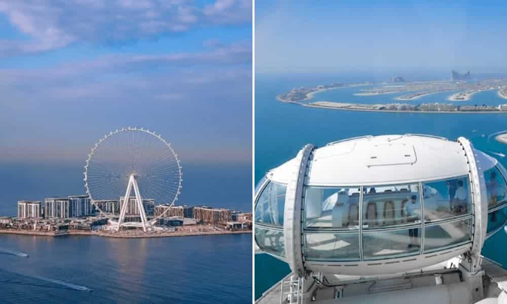 Dubái abrirá la noria más grande y alta del mundo con increíbles cabañas de observación