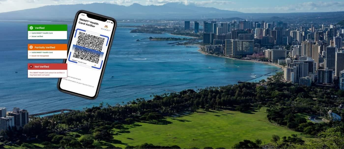 Hawái lanzó un pasaporte digital de salud para personas vacunadas contra el COVID-19