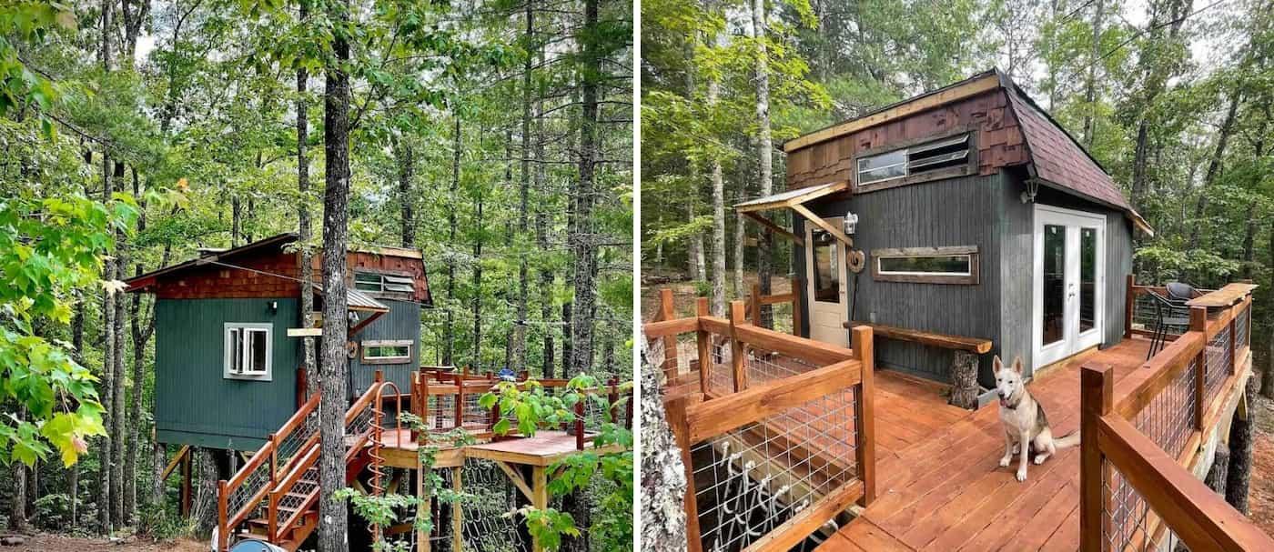 Esta casa del árbol fue diseñada por un niño de 9 años y está disponible para ser alquilada