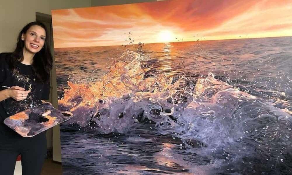 artista-crea-pinturas-realistas-del-mar-fobia-al-océano