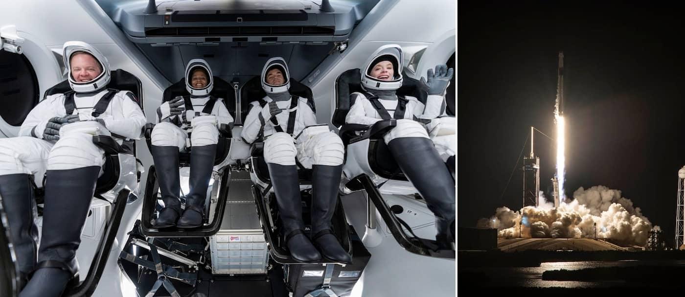 Se lanzó al espacio el primer cohete con tripulación completamente civil e hizo historia