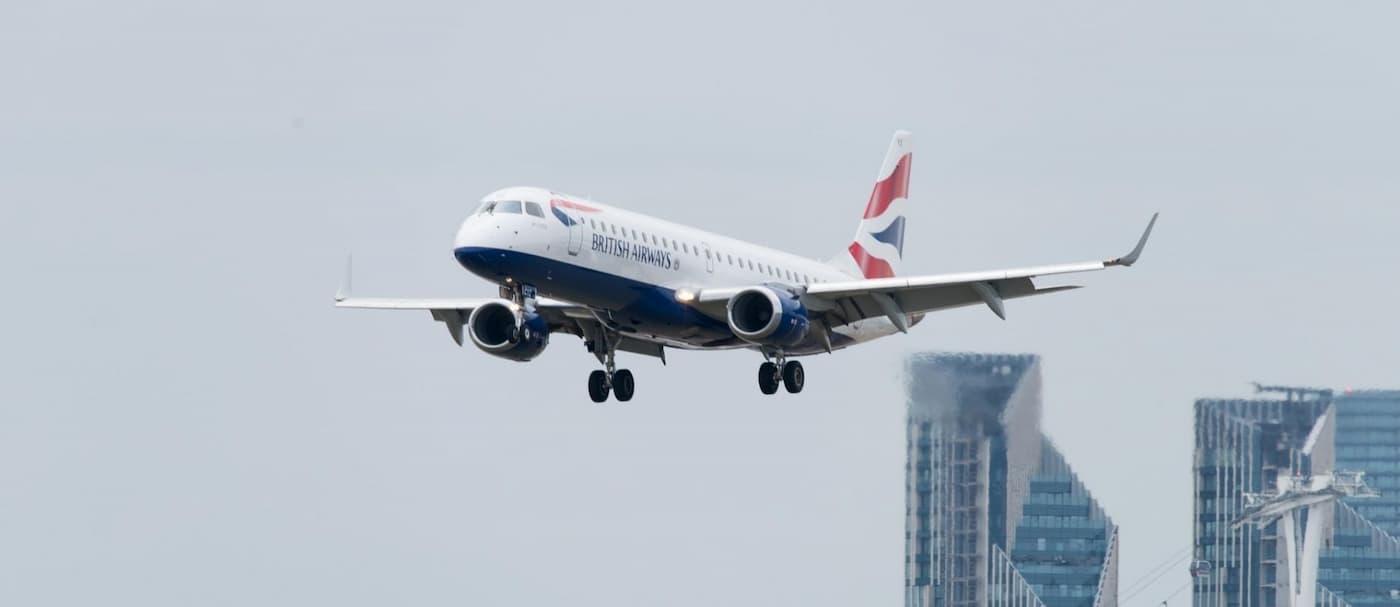 British Airways realizó su primer vuelo de pasajeros totalmente neutro en carbono