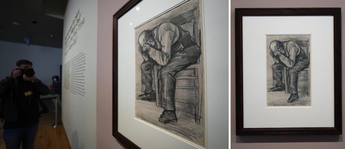 Un museo de Ámsterdam presenta un dibujo de Van Gogh nunca antes visto
