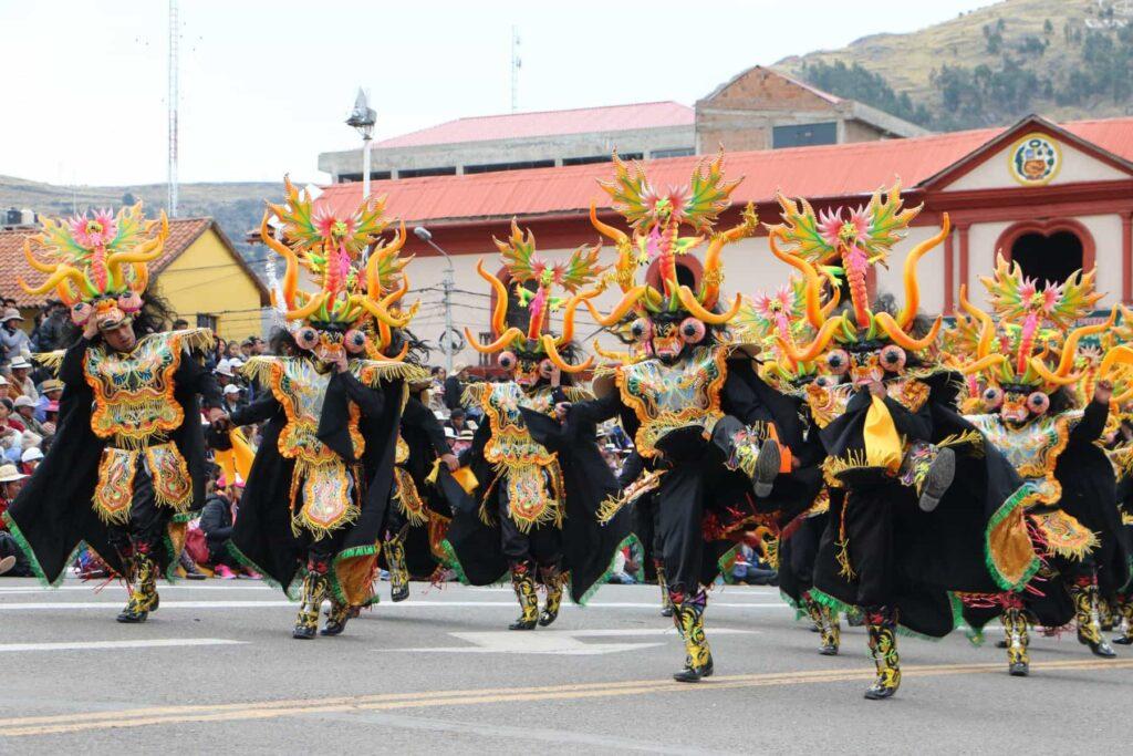 La Danza Diablada Puneña Fue Declarada Patrimonio Cultural De La Nación Por El Gobierno De Perú