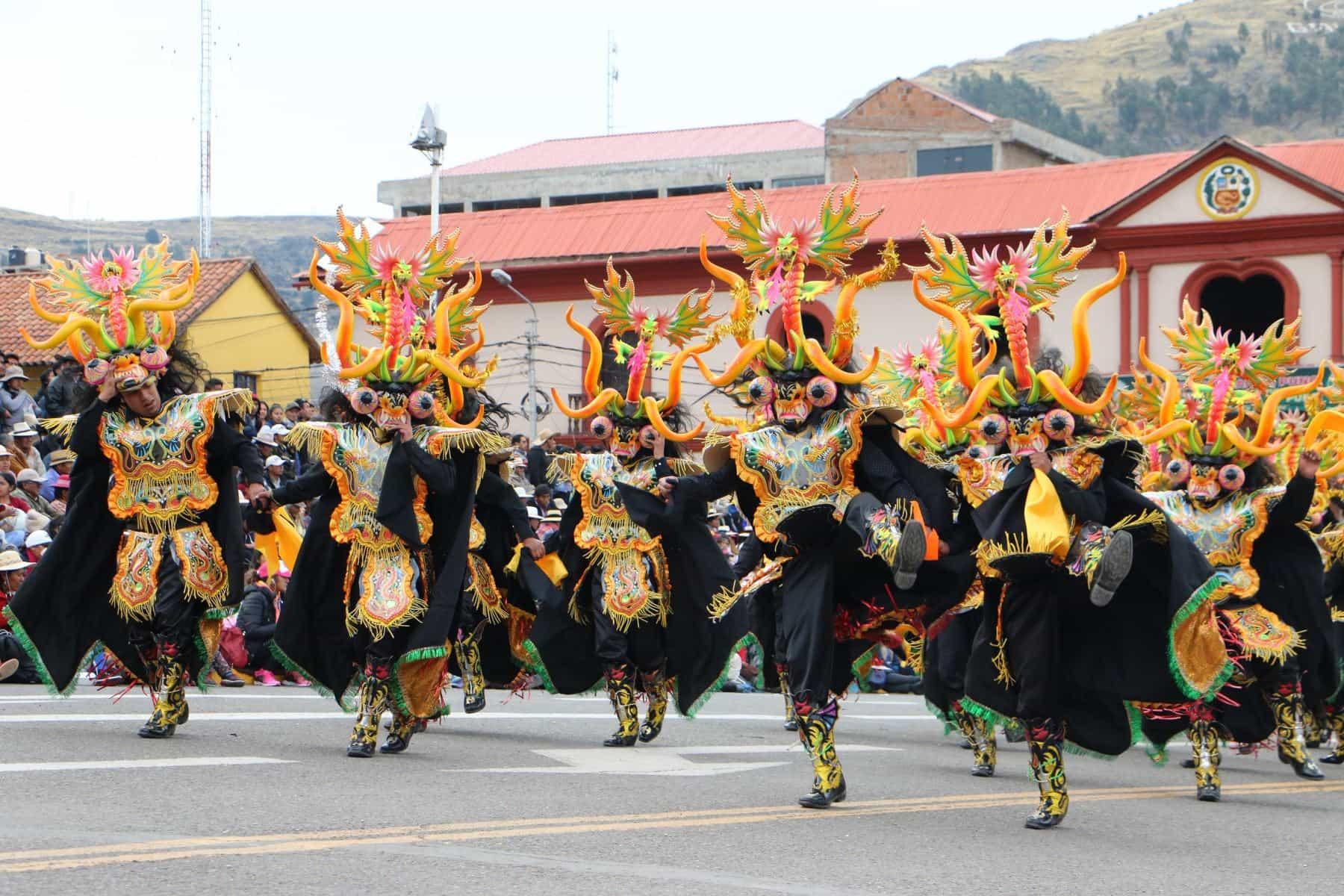 Perú La Diablada Puneña fue declarada Patrimonio Cultural de la Nación