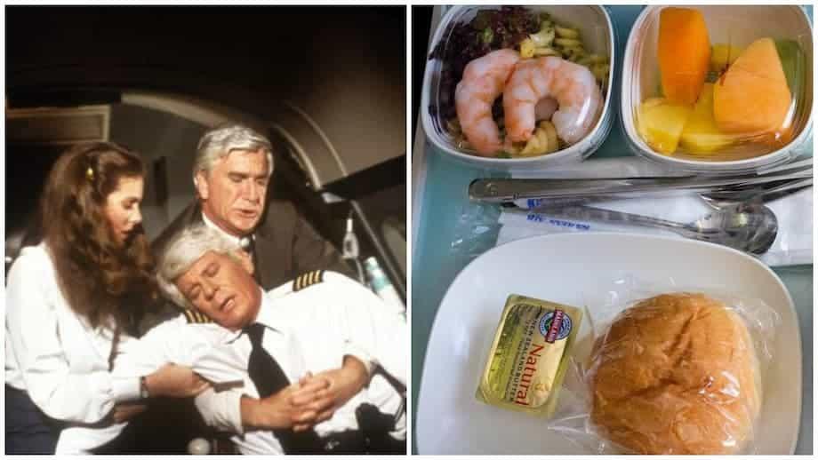 comida avion