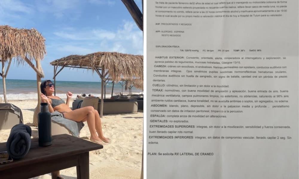 Turista argentina sufrió un grave accidente en Tulum y piden ayuda para saldar los gastos de internación (1)