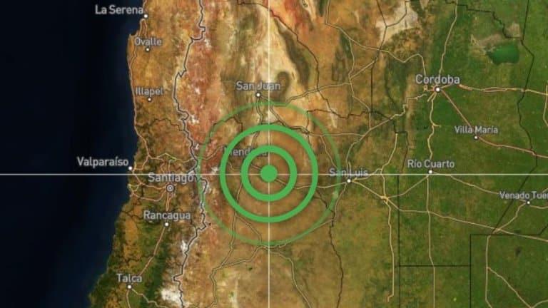 Mendoza Registró Terremoto De 5,2 Grados En La Escala Richter: No Se Registraron Heridos Ni Daños Materiales