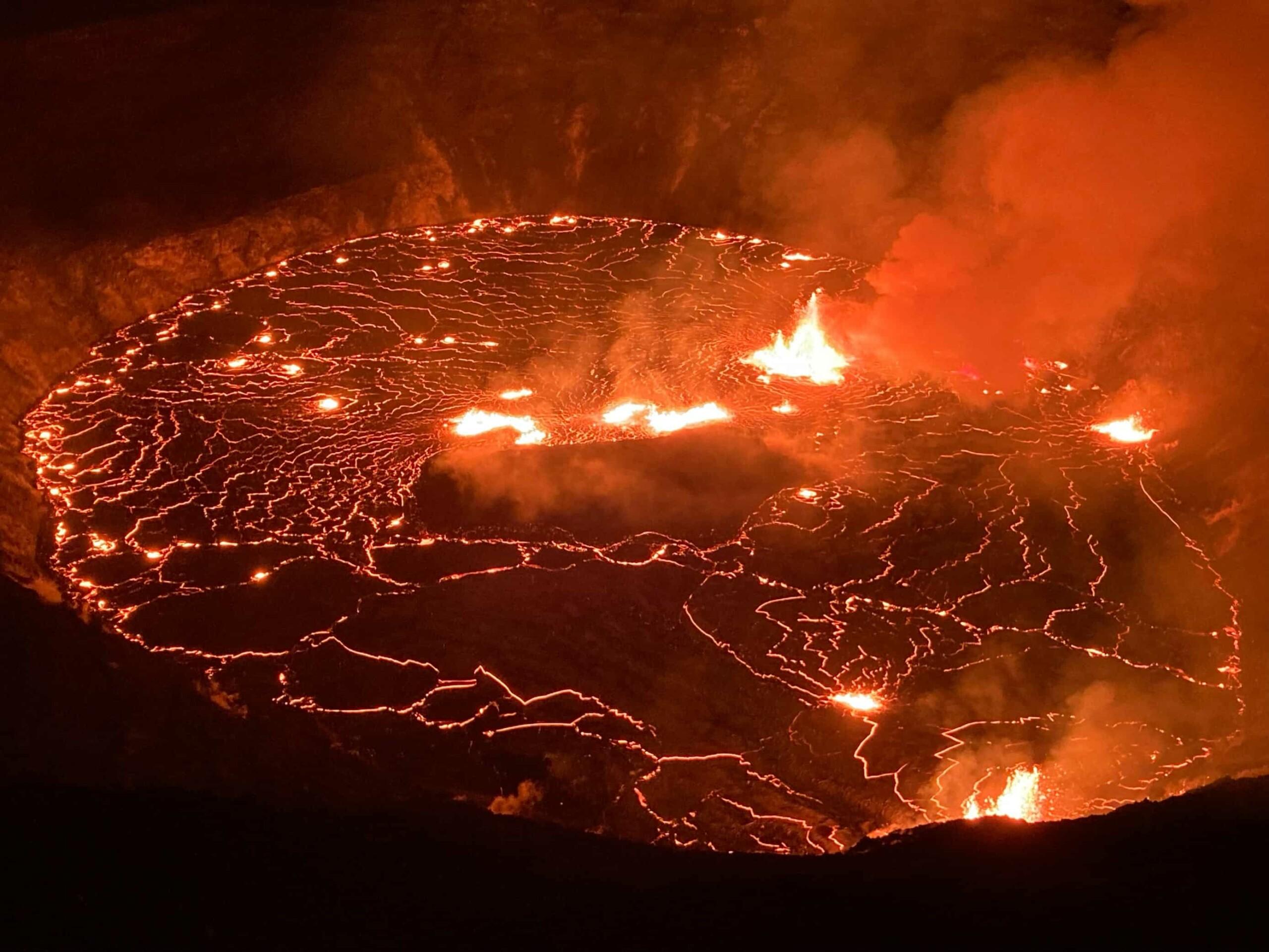 erupción del volcán Kilauea-3