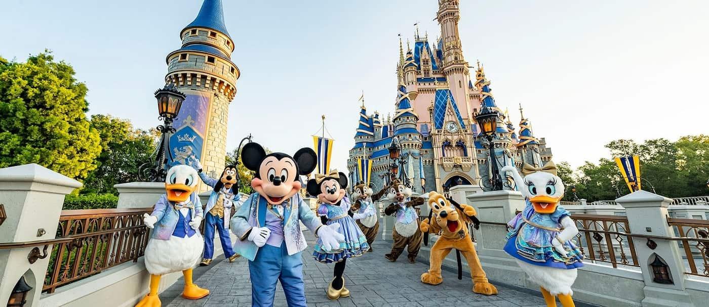 Disney World inició la celebración de su 50° aniversario