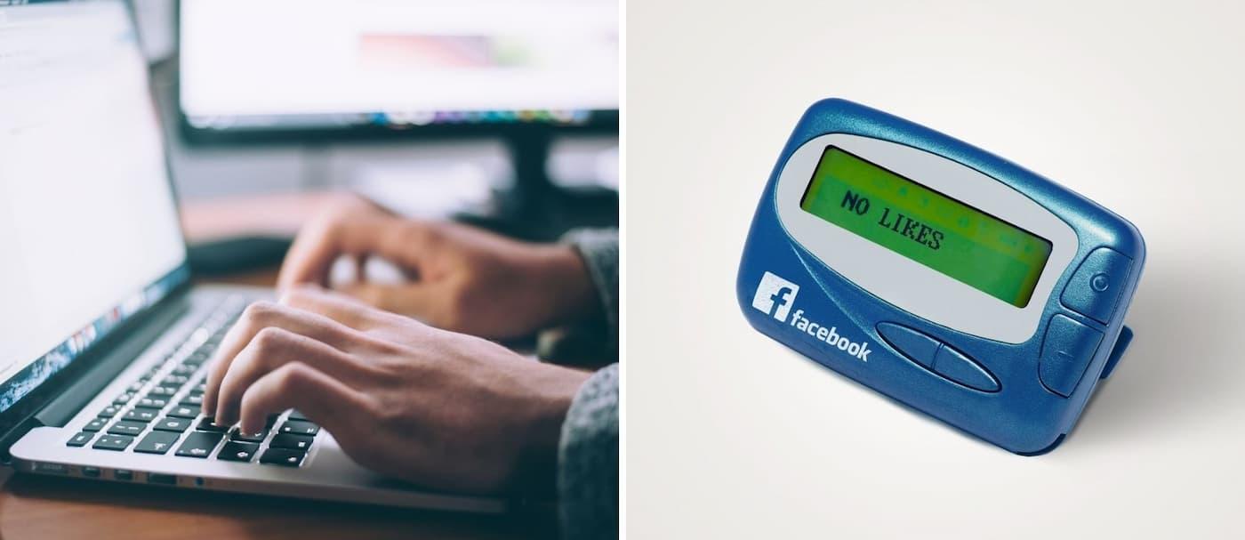 Un diseñador recreó cómo se verían algunas redes sociales y plataformas antes de Internet