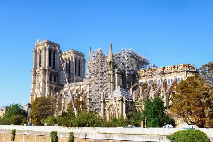 reapertura de Notre Dame será en 2024, antes de los Juegos Olímpicos de París-5