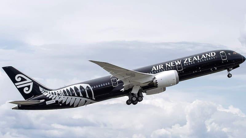 Vuelo De Air New Zealand - La Compañía Solicitará Que Sus Pasajeros Estén Vacunados Contra El Covid-19 En 2022