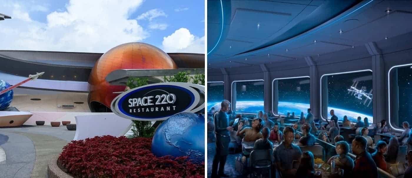 Disney World cuenta con un nuevo restaurante temático que te permite comer como en el espacio