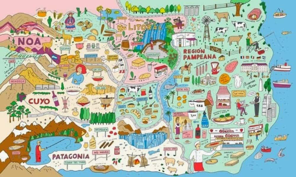 """Google Arts & Culture presenta """"Argentina a la mesa"""", una colección sobre la riqueza cultural y gastronómica que tiene la comida argentina-5"""