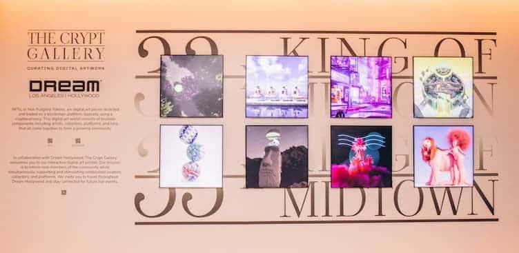 Exhibición Nft En El Hotel Dream