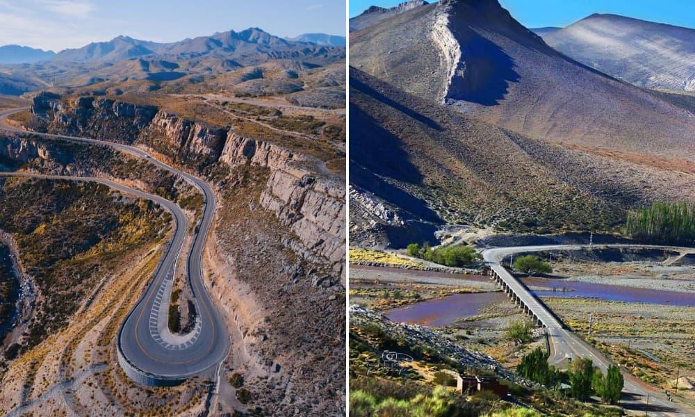 Mendoza Proponen un viaje geológico por la ruta 40 a partir de huellas de dinosaurios, árboles petrificados y petróleo-1