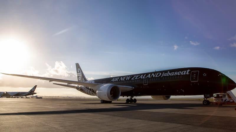Air New Zealand Transforma Un Boeing 787 En Un Centro De Vacunación Contra El Covid-19