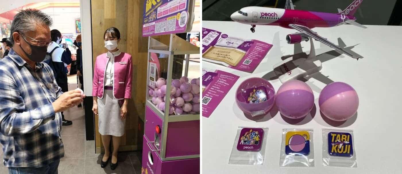 Una aerolínea japonesa ofrece viajes a destinos sorpresa utilizando una máquina expendedora