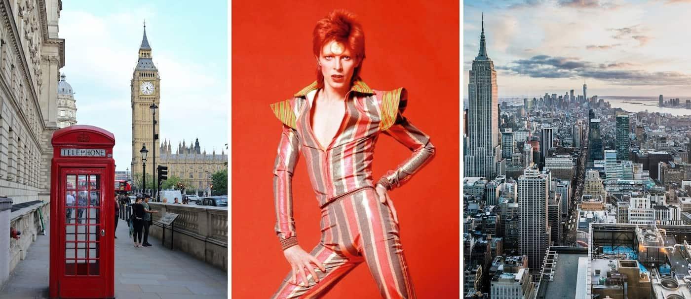 Londres y Nueva York tendrán una pequeña tienda inspirada en David Bowie