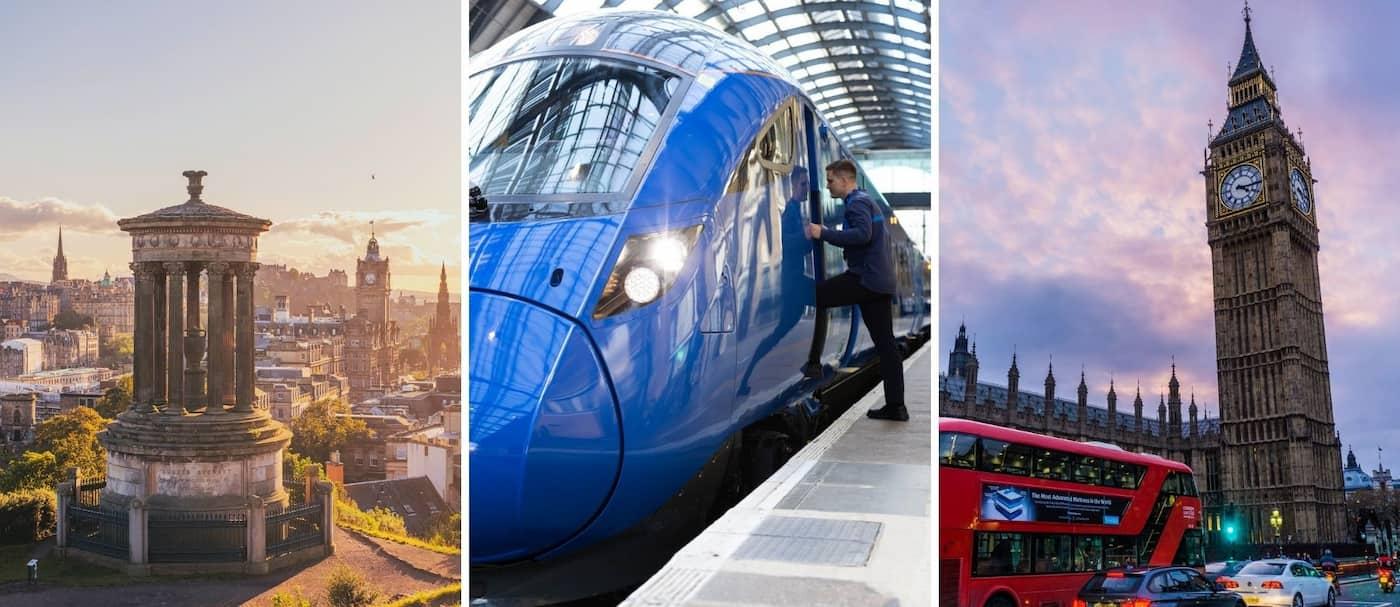 Lumo, el tren que conecta Londres con Edimburgo, ya tuvo su debut oficial
