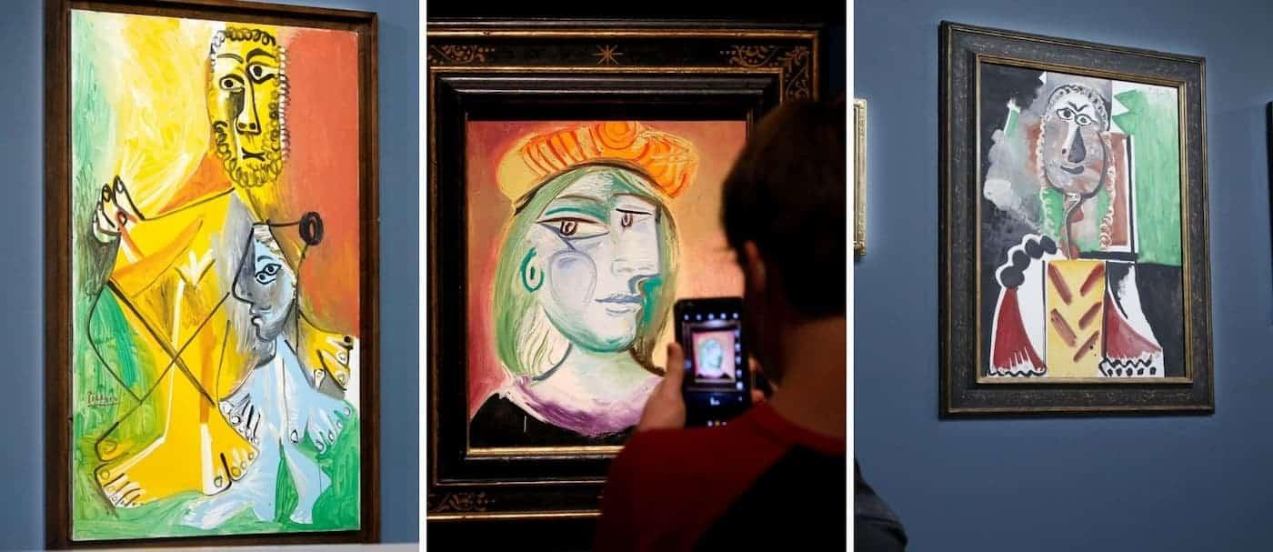 11 obras de Picasso fueron subastadas por un valor total que superó los 108 millones de dólares